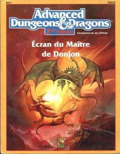 Ecran du Maître de Donjon (1ère édition) (Ecran pour AD&D)